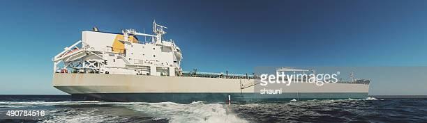 Oil Tanker Departure