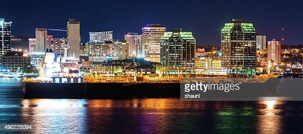 Oil Tanker in Halifax Harbour