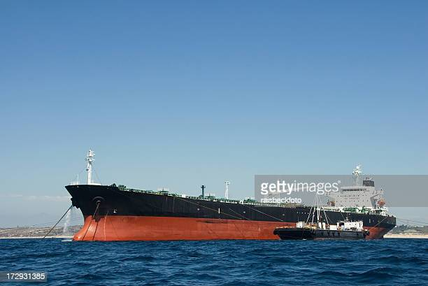 Oil Tanker off Southern California Coast