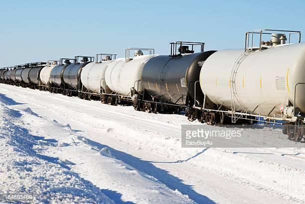 Oil tanker train
