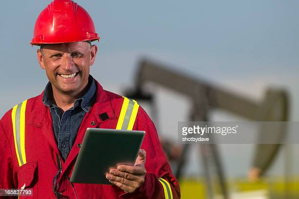 Oil Worker and PC