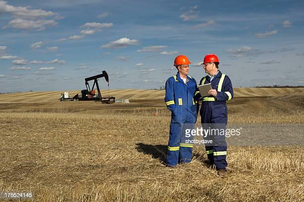 Oil Worker Meeting