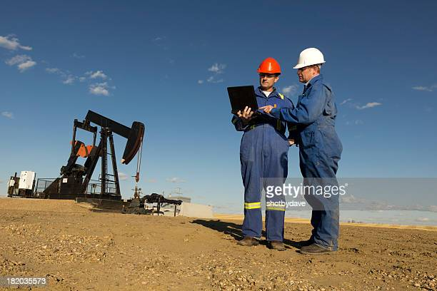 Oil Workers and Computer