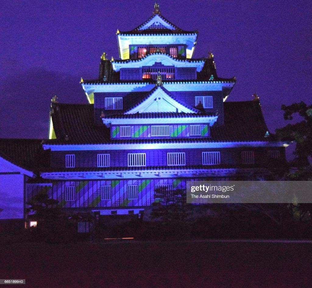 landmarks illuminated in blue on world autism awareness day photos