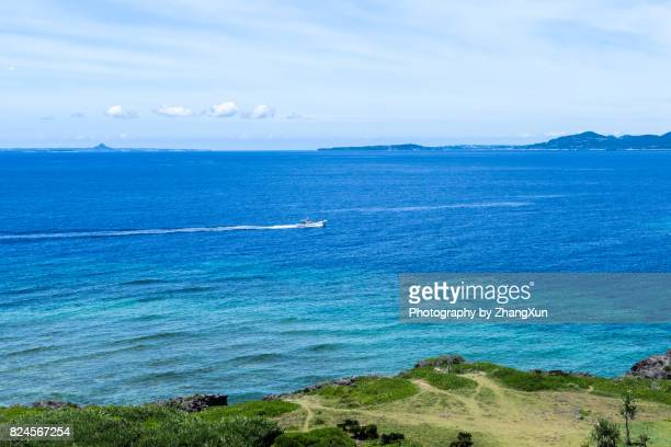 Okinawa Naha Manza Resort Scenic View Of Beach Against Sky and Sea.
