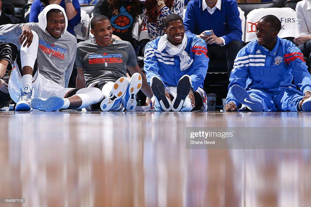 Charlotte Bobcats v Oklahoma City Thunder