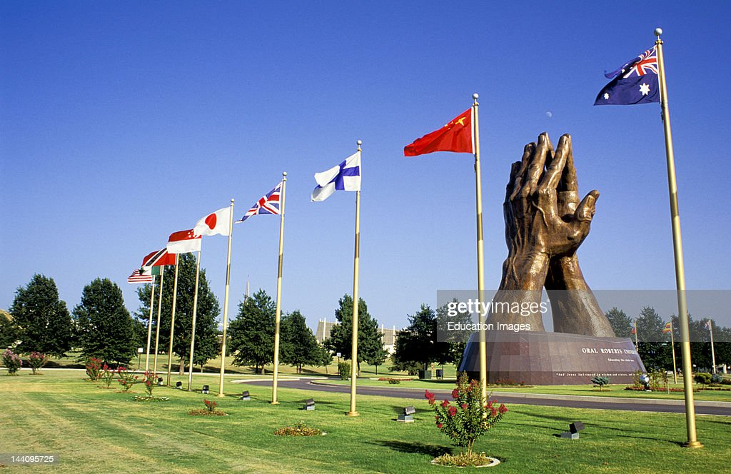 Oklahoma Tulsa Oral Roberts University Prayer Hands