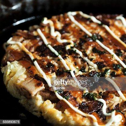 Okonomiyaki : Stock-Foto