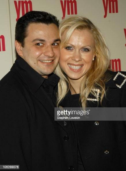 Oksana Baiul and husband Gene...