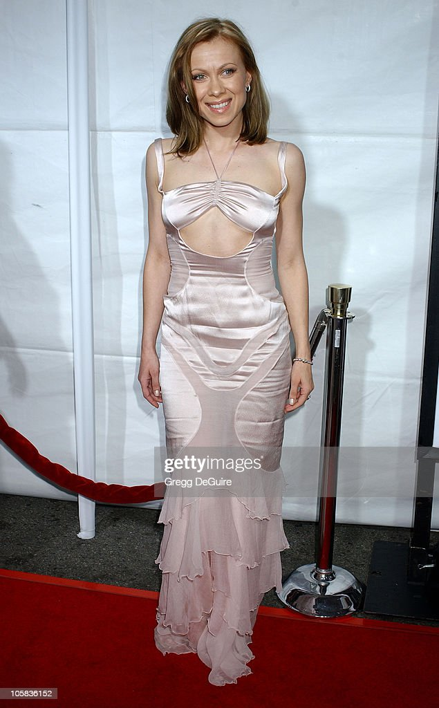 Oksana Baiul during 'Monster-In-Law' Los Angeles Premiere - Arrivals at Mann National Theatre in Westwood, California, United States.