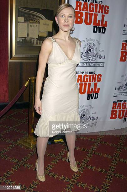 Oksana Baiul during 'Raging Bull' 25th Anniversary and Collector's Edition DVD Release Celebration at The Ziegfeld Theatre in New York New York...