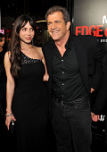 Oksana Grigorieva and actor Mel Gibson arrive at the 'Edge Of Darkness' premiere held at Grauman's Chinese Theatre on January 26 2010 in Hollywood...