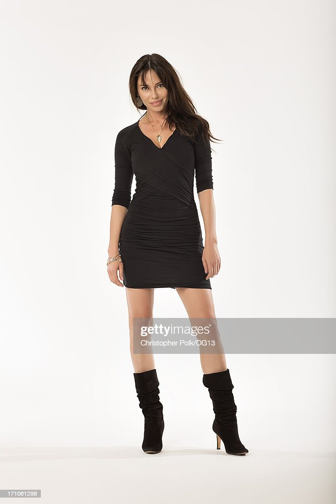 This image has been retouched) Oksana Grigorieva is seen during a portrait session May 8, 2013 in Los Angeles, California.