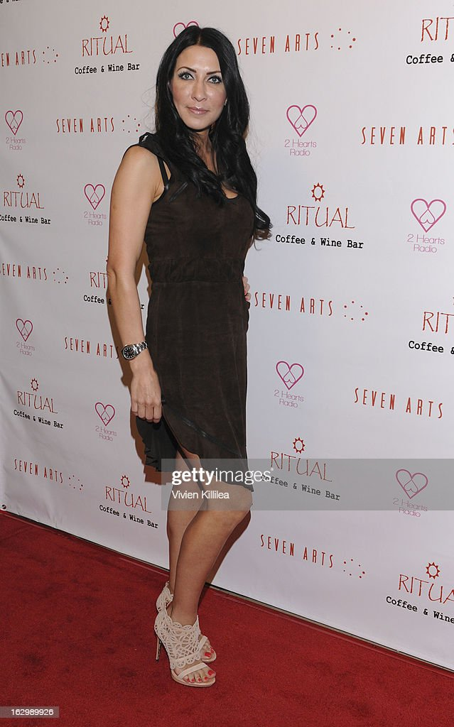Oksana Shkarupelova attends Seven Arts Presents The Grand Opening Of Ritual Cafe And Wine Bar on March 2, 2013 in Los Angeles, California.