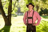 Oktoberfest Bavarian Man