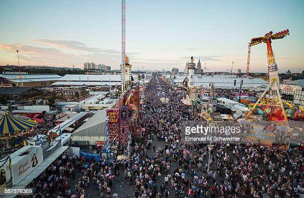 Oktoberfest from above