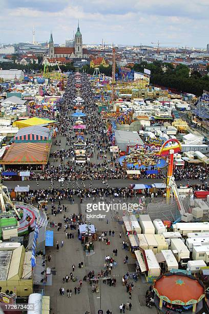 Oktoberfest: View from the top