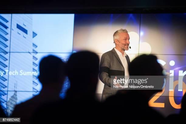 Ola Ahlvarsson during the Sime Awards at Epicenter on November 16 2017 in Stockholm Sweden