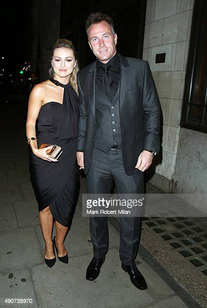 Ola Jordan and James Jordan at the Reality TV awards on September 30 2015 in London England