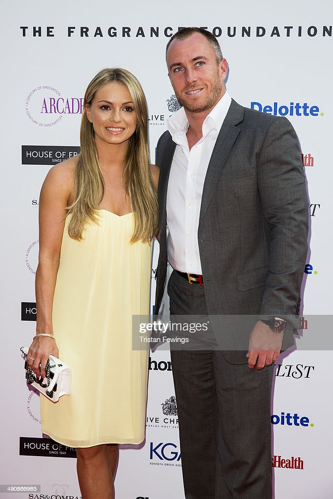<a gi-track='captionPersonalityLinkClicked' href=/galleries/search?phrase=Ola+Jordan&family=editorial&specificpeople=4958189 ng-click='$event.stopPropagation()'>Ola Jordan</a> and James Jordan attend the FiFi UK Fragrance Awards at The Brewery on May 15, 2014 in London, England.