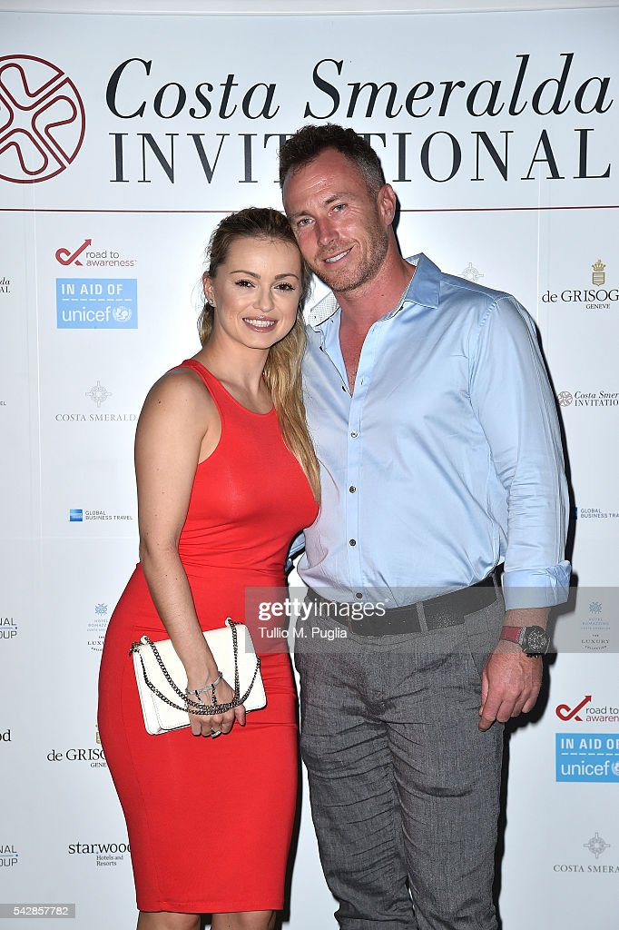 <a gi-track='captionPersonalityLinkClicked' href=/galleries/search?phrase=Ola+Jordan&family=editorial&specificpeople=4958189 ng-click='$event.stopPropagation()'>Ola Jordan</a> and James Jordan attend the Welcome Dinner prior to The Costa Smeralda Invitational golf tournament at Pevero Golf Club - Costa Smeralda on June 24, 2016 in Olbia, Italy.
