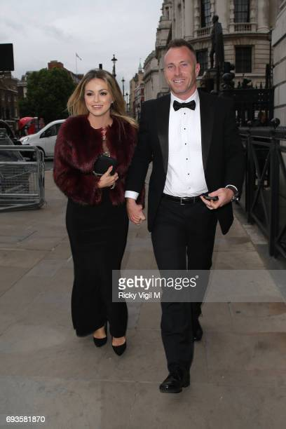 Ola Jordan and James Jordan attend Together for Short Lives Midsummer Ball at Banqueting House on June 7 2017 in London England