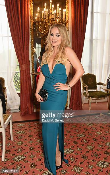 Ola Jordan attends The Dream Ball in aid of The Prince's Trust and Big Change at Lancaster House on July 7 2016 in London United Kingdom