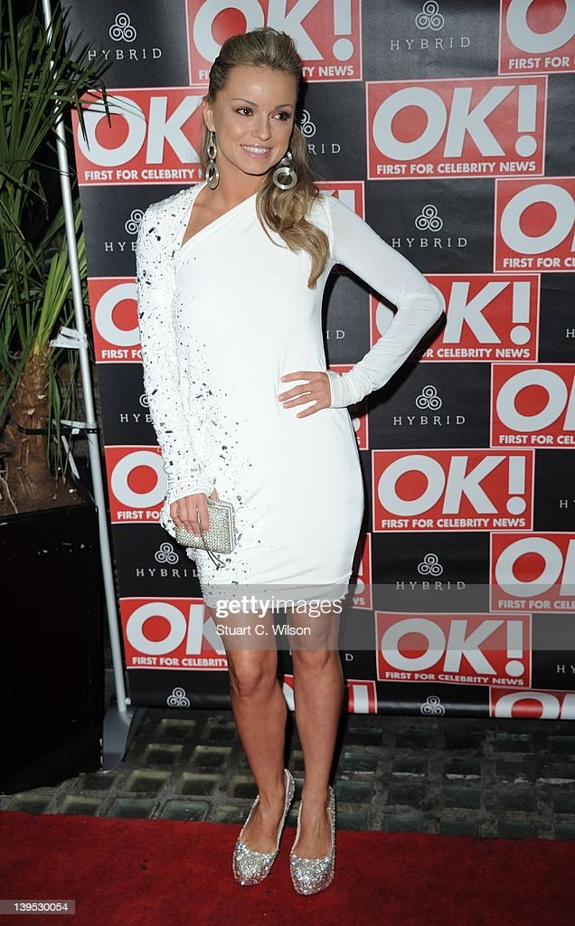 Ola Jordan attends the Hybrid and OK! Magazine London Fashion Week Party at Jewel Bar on February 22, 2012 in London, England.
