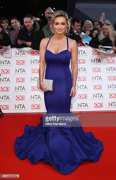 Ola Jordan attends the National Television Awards at The O2 Arena on January 25 2017 in London England