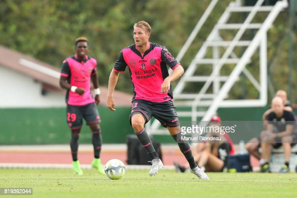 Ola Toivonen of Toulouse during the friendly match between Toulouse FC and Deportivo Alaves on July 19 2017 in Saint Jean de Luz France
