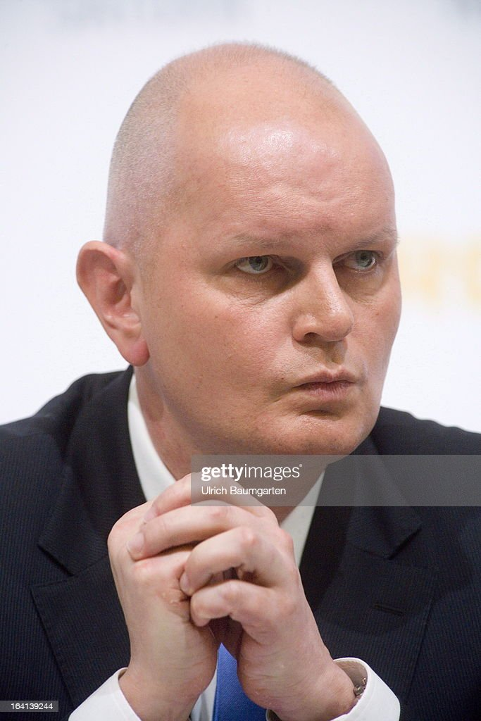 Olaf Koch, CEO of the Metro AG, before the company's results news conference on March 20, 2013 in Duesseldorf, Germany. The German retail giant announced a drop in its profits for 2012, blaiming it on higher investment levels and operating conditions.