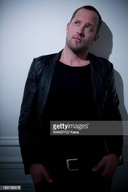 Olaf Olsen Attitude du chanteur allemand Olaf OLSEN photographié à l'hôtel Meurice à Paris où il se produira avec son quartet du 15 au 17 avril 2011