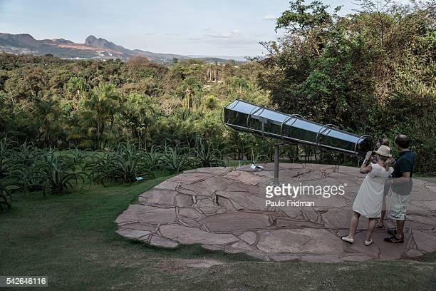 Olafur Eliasson's 'View from machine' at Inhotim Contemporary Art Institute on September 7th in Brumadinho Minas Gerais Brazil
