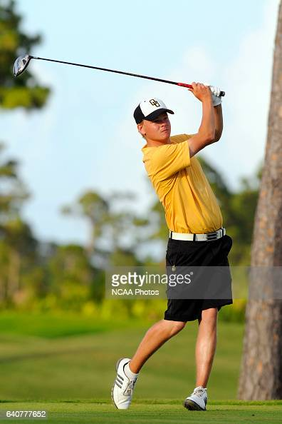 Olafur Loftsson Oglethorpe University tees off during the Division III Men's Golf Championship held at the PGA Golf Club in Port St Lucie FL Loftsson...