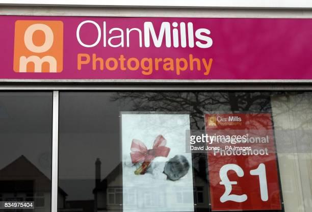 Olan Mills portraiture studio in Aldridge West Midlands