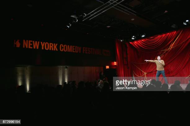 Olan Rogers performs onstage during TBS Comedy Festival 2017 Final Space Presents Storytime with Olan Rogers on November 11 2017 in New York City...
