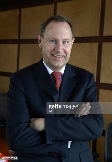 Olav Theilman Chief Retail Officer at Barcleys Corporate photographed during an interview with Mint in Mumbai