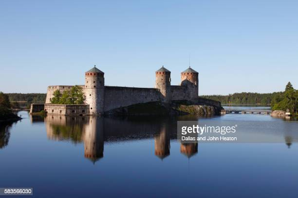 Olavinlinna Castle in the Saimaa Lake District