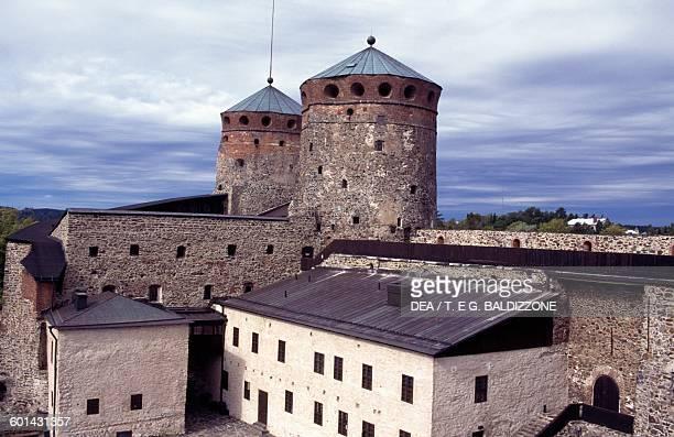 Olavinlinna castle Savonlinna Finland 15th century