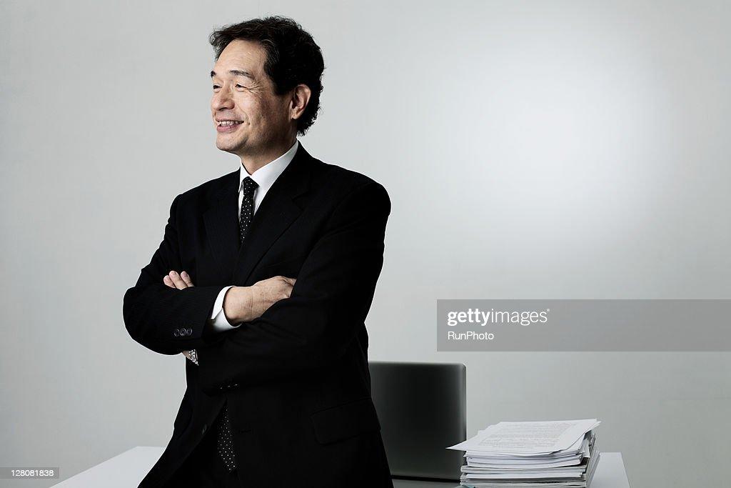 old age businessman,portrait
