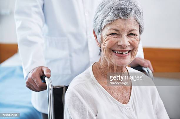 Old age is a humble victory