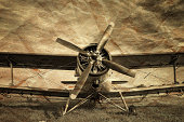Old aircraft, biplane
