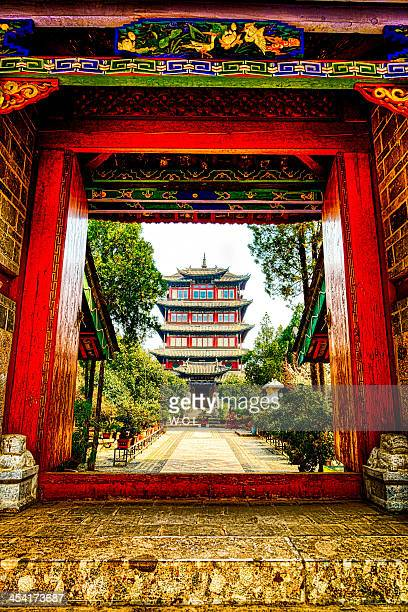 Old Ancient Chinese Tower