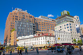 Old and new buildings, Downtown Manhattan