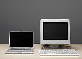 Old and new technology, still-life