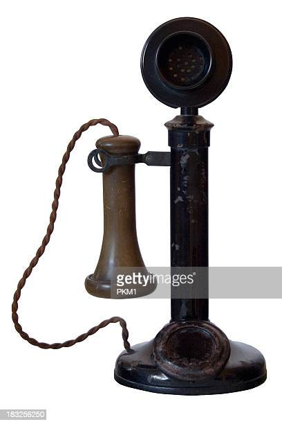 Old Antique Telephone (with path)