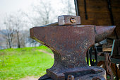 old anvil with a hammer are inseparable