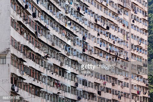 Old Apartments Building Close Up Stock Photo | Getty Images