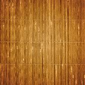 Old bamboo mat texture
