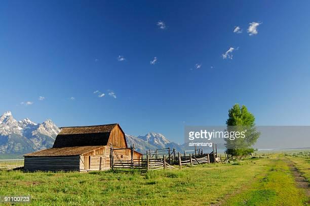 Old Barn at Grand Teton